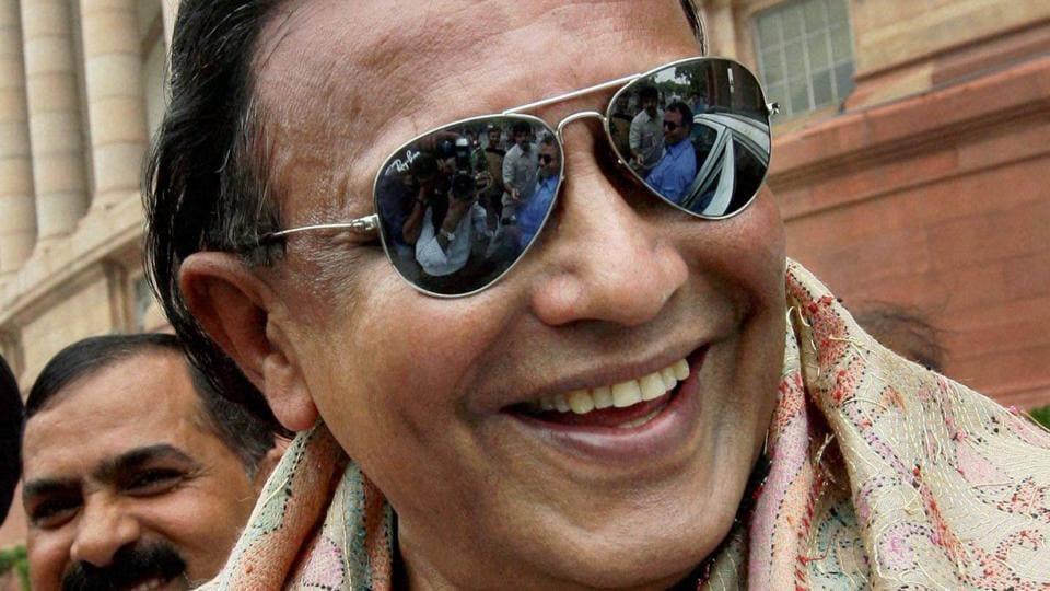 Bollywood actor Mithun Chakraborty was elected to the Rajya Sabha in April 2014.