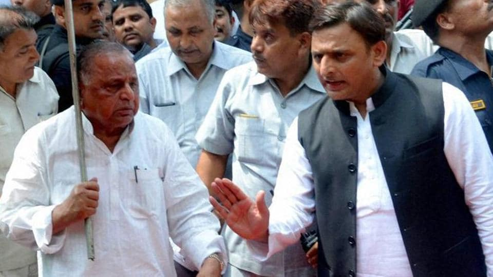 Akhilesh Yadav,Shivpal Yadav,Yadav family feud