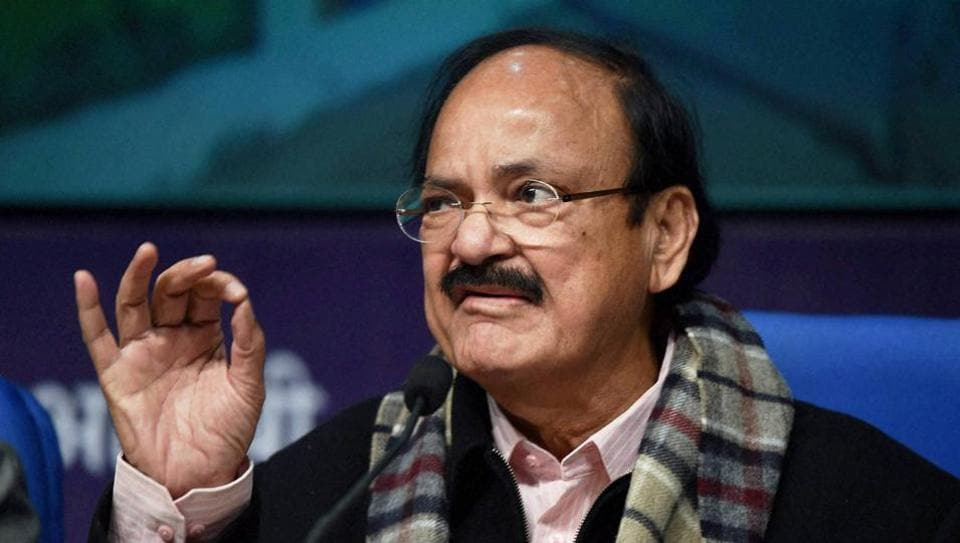 In a letter to his colleagues, information and broadcasting minister M Venkaiah Naidu said they should visit the districts to popularise the government's welfare initiatives.
