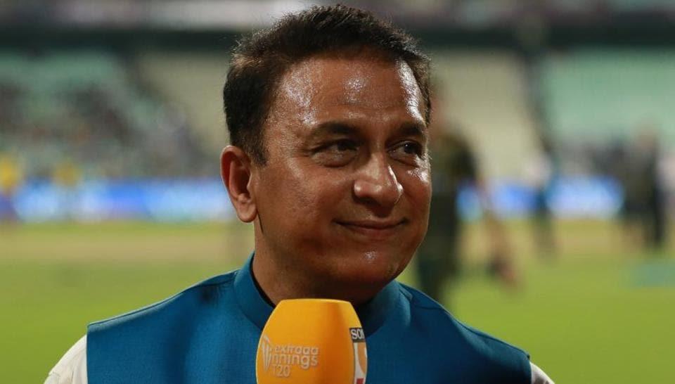 Neil Broom,Sunil Gavaskar,New Zealand national cricket team
