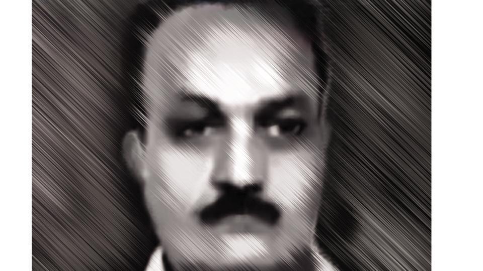 Suspended police inspector Mehboob Abdul Karim Mujawar.