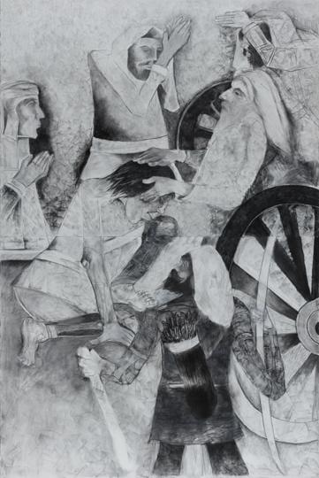 Work of art,Theme,Black and white