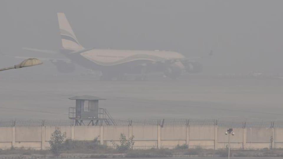 Flight operations,Amritsar International airport,Dense fog
