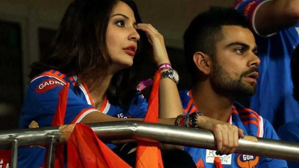 Virat Kohli and Anushka Sharma have been dating each other for more than two years. The duo is seen here during an Indian Super League match. Kohli is the co-owner of the FC Goa team in ISL