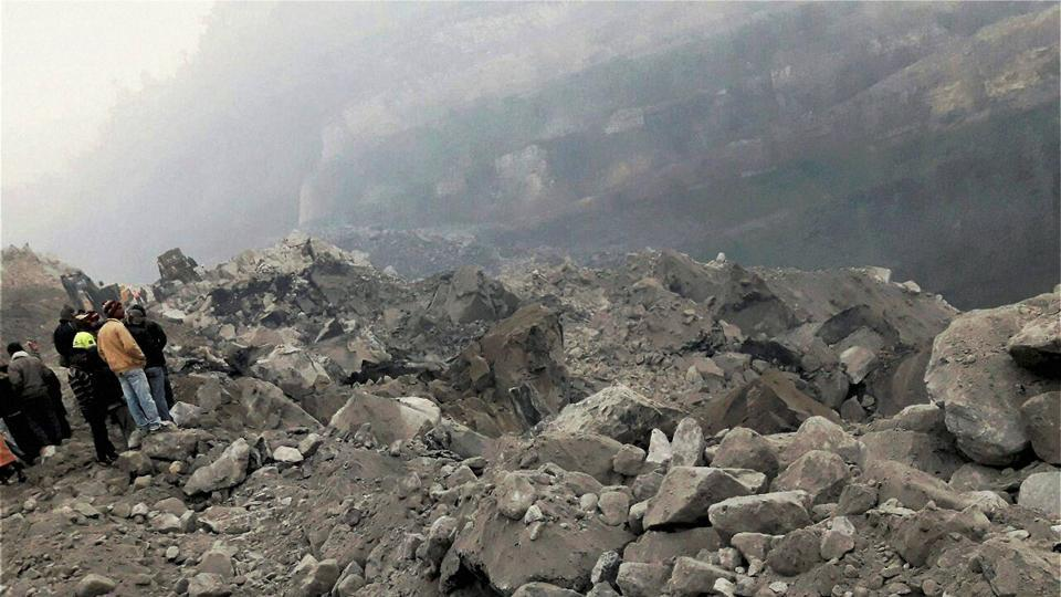A private company, Mahalaxmi, was mining coal at the site in Jharkhand's Godda district where the accident took place on Thursday night.