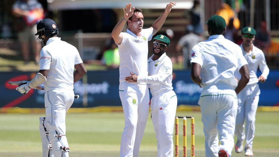 South Africa crushed Sri Lanka by 206 runs in the first Test at Port Elizabeth to take a 1-0 lead in the three-Test series.