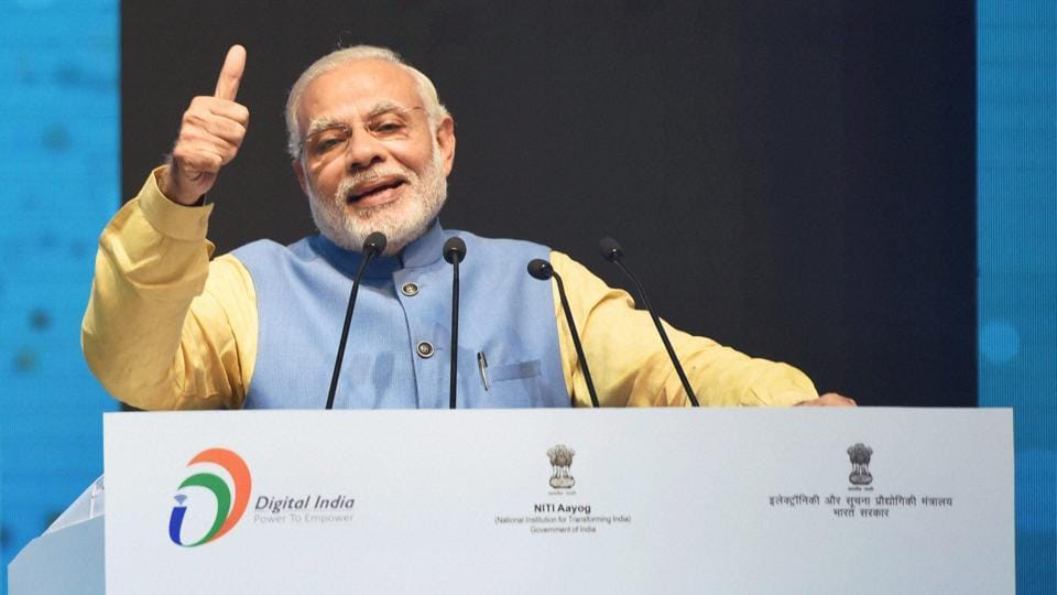 Some pubs in and around Delhi are trying to earn a little extra this New Year's Eve, with plans to live stream Narendra Modi's scheduled address at 7.30pm on Saturday.
