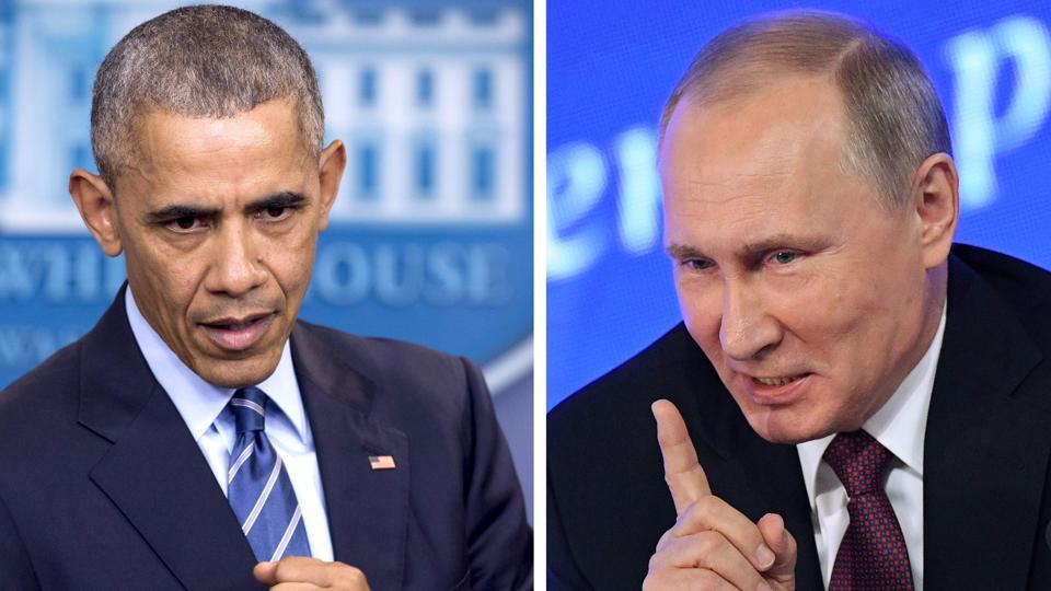 Obama announces sanctions for Russian election hacking