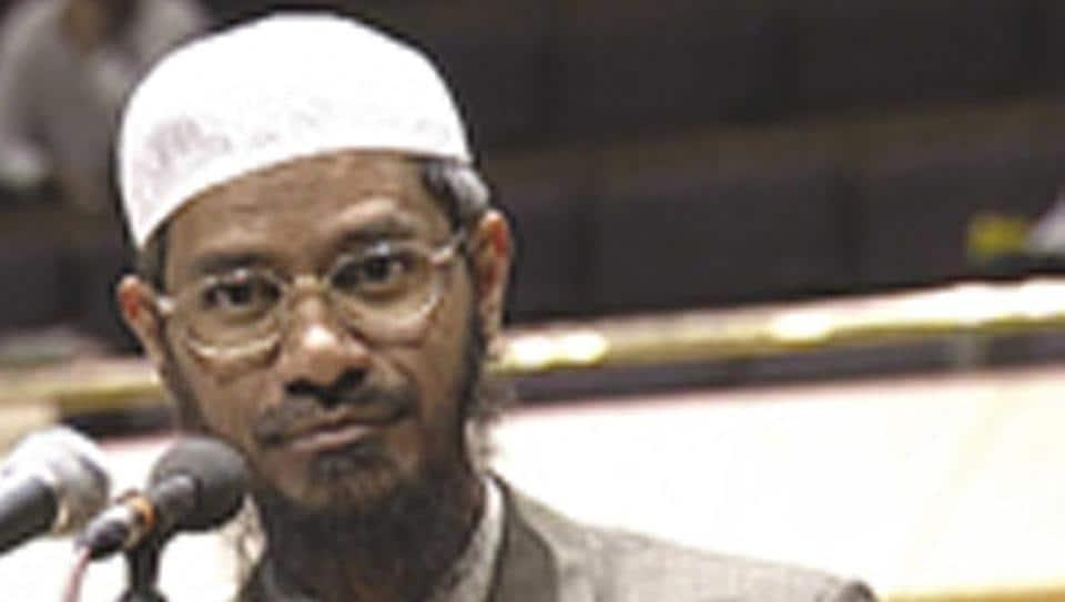 Controversial preacher Zakir Naik.