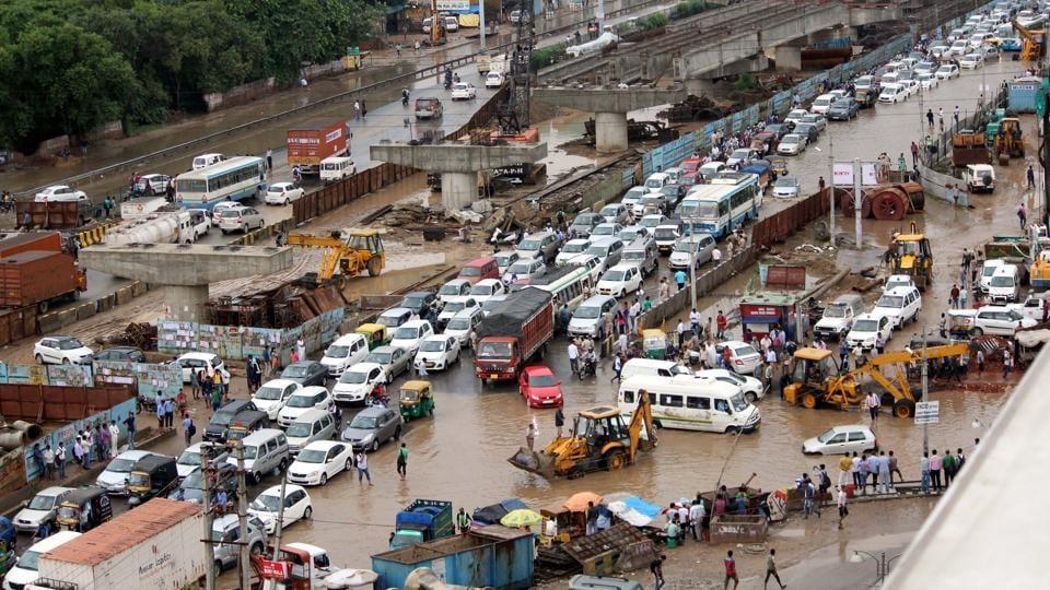 Gurgaon,Year roundup,waterlogging