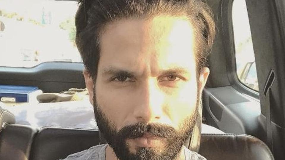 Shahid Kapoor has shared a cute picture of his daughter on Instagram.