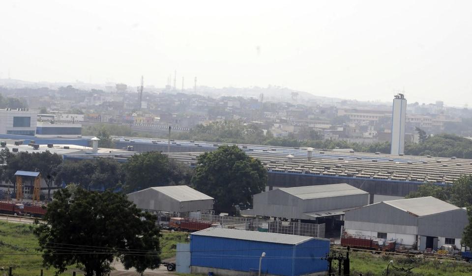 Pithampur smart industrial park,Audyogik Kendra Vikas Nigam,Pithampur industrial area