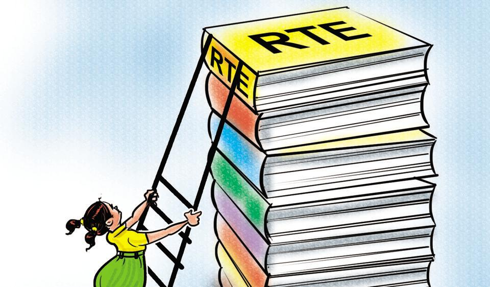 Under the Right to Education (RTE) Act 2009, students belonging to families earning less than Rs1 lakh annually and from socially disadvantaged groups can avail of free primary education and the tuition fee is reimbursed to schools.
