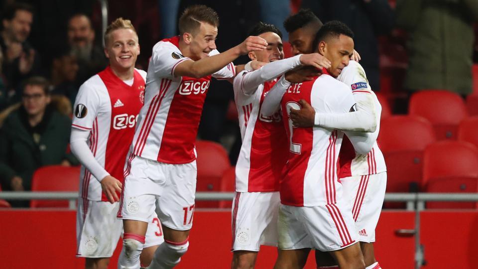 Ajax F.C.,Amsterdam,The New Saints
