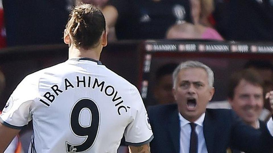 Zlatan Ibrahimovic,Jose Mourinho,Manchester United F.C.