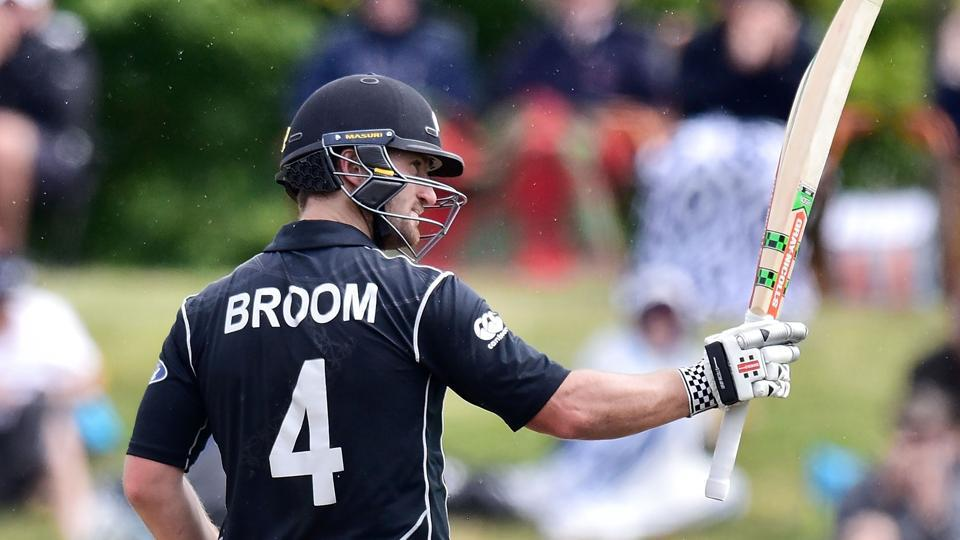 Neil Broom, who scored 109* and 97 in the two ODIs in Nelson against Bangladesh, has replaced Martin Guptill in the three Twenty20 Internationals starting on Tuesday.
