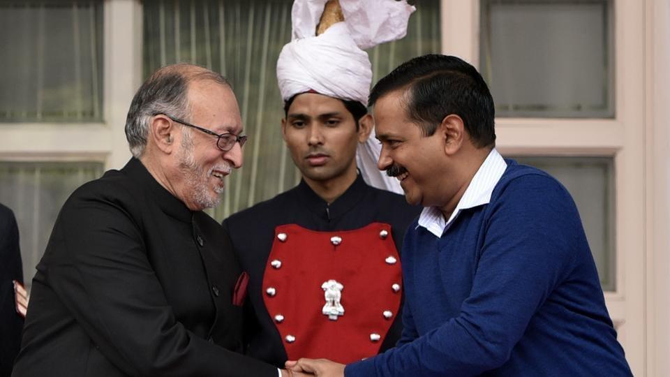 Anil Baijal,Arvind Kejriwal,Delhi L-G