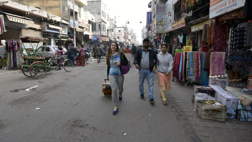 Paharganj, which has half of Delhi's 1,500 budget hotels, and whose entire economy depends on foreign tourists, is witnessing a slump like never before.