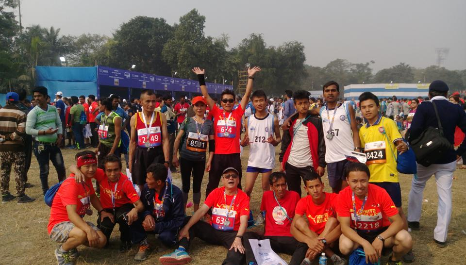 """What started with morning walks, runs, casual 'hellos' and 'hi' at Darjeeling Chowrasta has transformed into the """"Darjeeling Hill Runners' Club."""" The club with highly promising runners of all age groups hopes to win laurels not only for Darjeeling but for the country."""