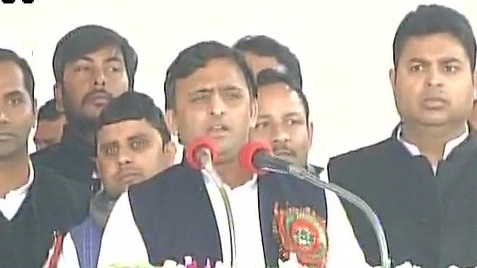 Akhilesh Yadav lashed out against his uncle Shivpal Yadav, with whom he is locked in a months-long battle for control of the party.