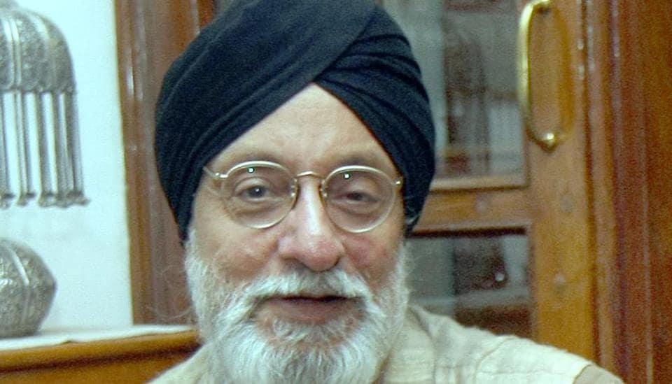 Amarjit Chandan, Britain-based Punjabi poet.