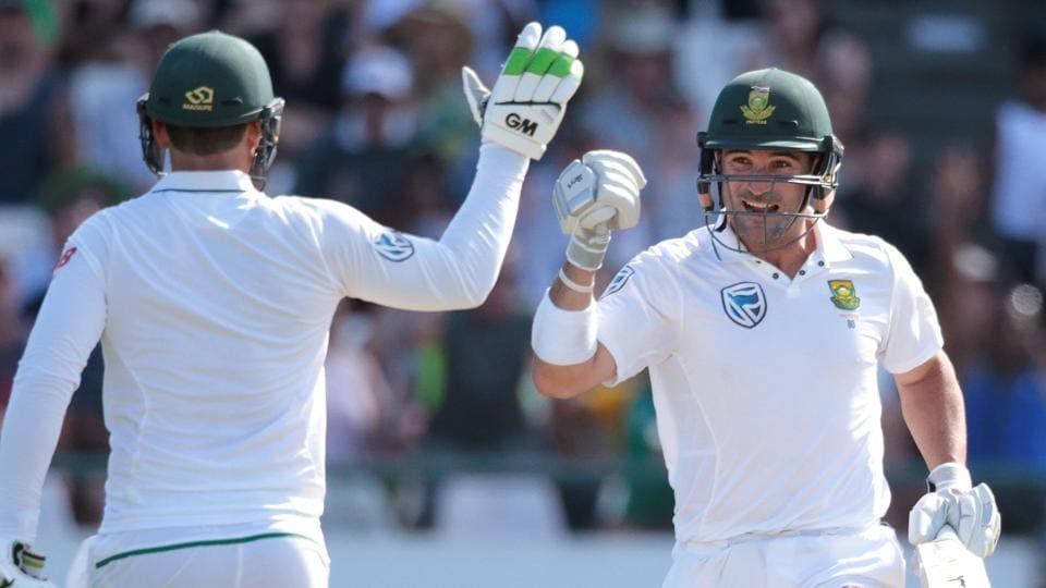 Dean Elgar,South Africa vs Sri Lanka,Quinton De Kock