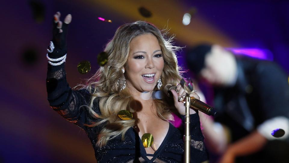 Mariah Carey,Mariah Carey Malfunction,Mariah Carey New Year Show
