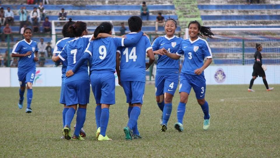 India produced a clinical display as they beat Nepal 3-1 to enter the final of the SAFF Women's Football Championship.