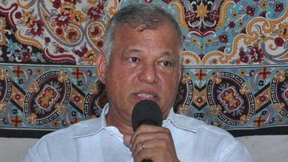 File photo of Goa Congress chief Luizinho Faleiro.