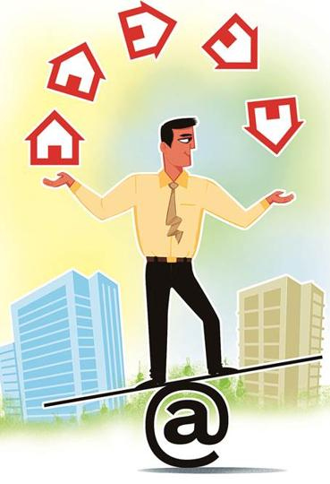 Demonitisation,Real estate,Brokers
