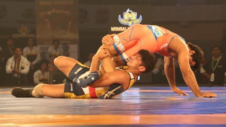 Pro Wrestling League,Haryana Hammers,Mumbai Maharathis