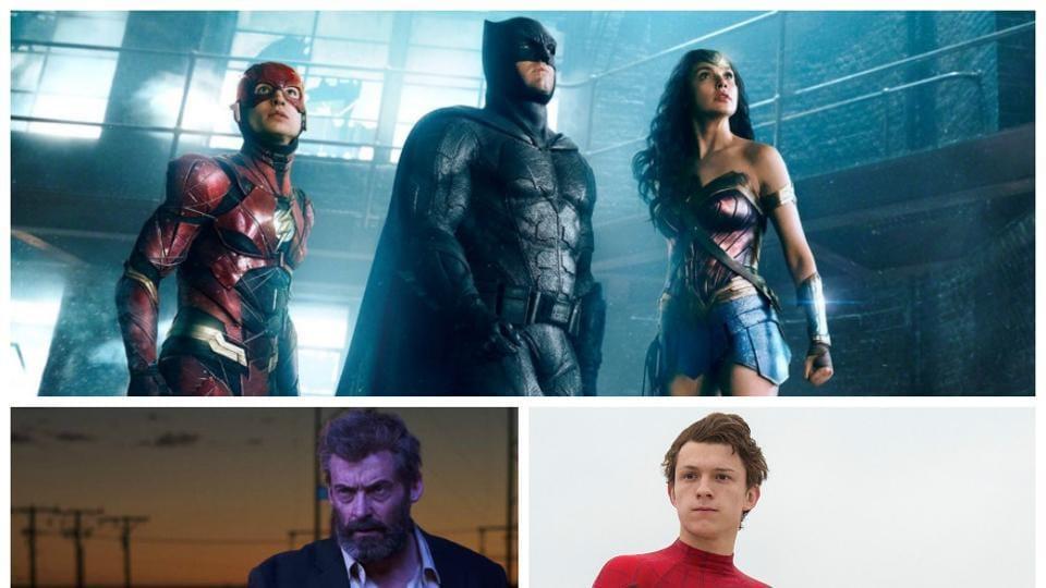 Wonder Woman,Wolverine,Logan