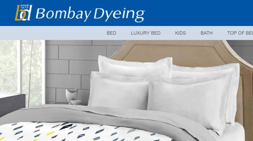 Bed and bath linen retailer Bombay Dyeing & Manufacturing Co today said it has inked an agreement for sale of land, building and some machinery of Ranjangaon unit at an aggregate value of Rs 174.45 crore.