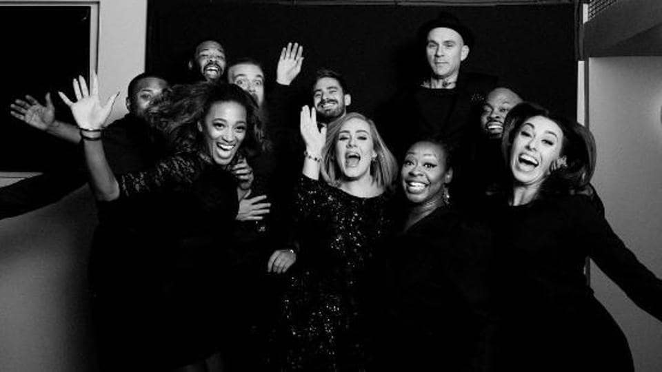 Adele was recently spotted wearing a ring on her wedding finger.