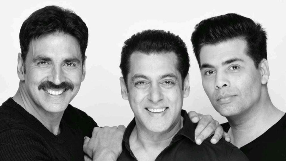 Salman Khan and Akshay Kumar join forces for a film to be produced by Karan Johar