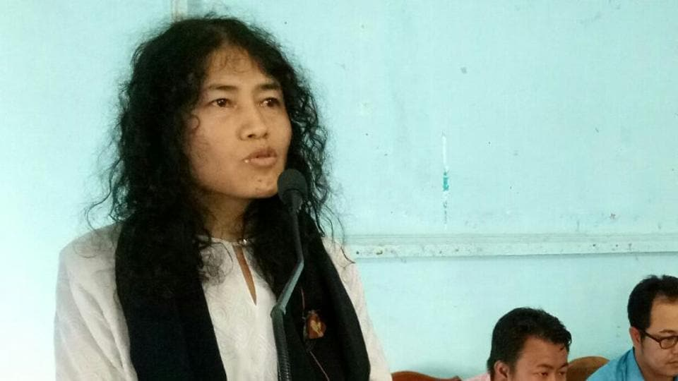 Irom Sharmila,Okram Ibobi Singh,CM Ibobi