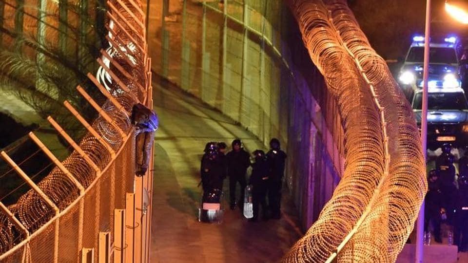 Migrant crisis,Spain,Ceuta