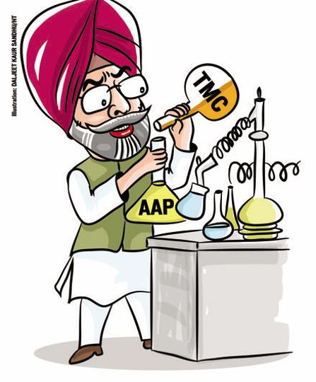 """As Punjab chief of Mamta Banerjee-led Trinamool Congress, former Congress MP Jagmeet Brar is blowing hot and cold in same breath against the Aam Aadmi Party (AAP). On one hand, Brar posts videos on WhatsApp warning AAP of """"dangers"""" of not aligning with his party, and on the other, he is busy inducting AAP leaders into his fold."""