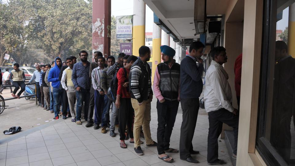 ATMs in the city have been calibrated for the new notes and a majority of them are stocked with money from time-to-time to cater to the increased withdrawal limit of ₹4,500 per day.