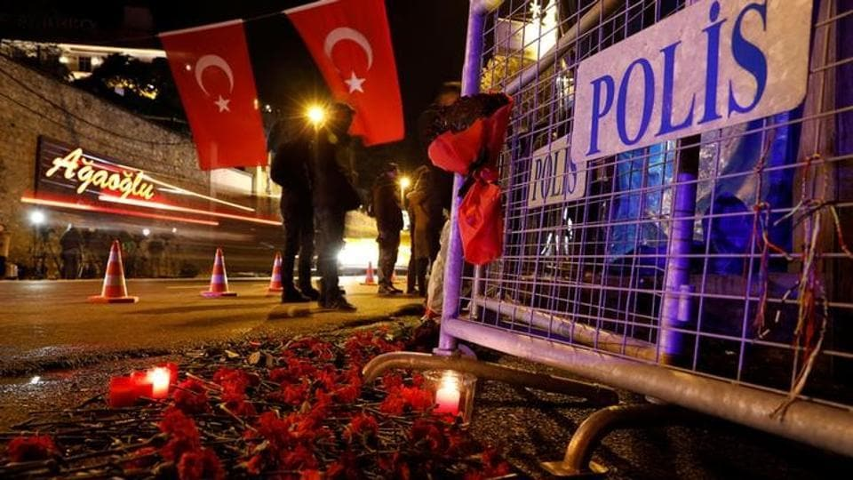 Istanbul attack,New Year attack Istanbul,Istanbul nightclub