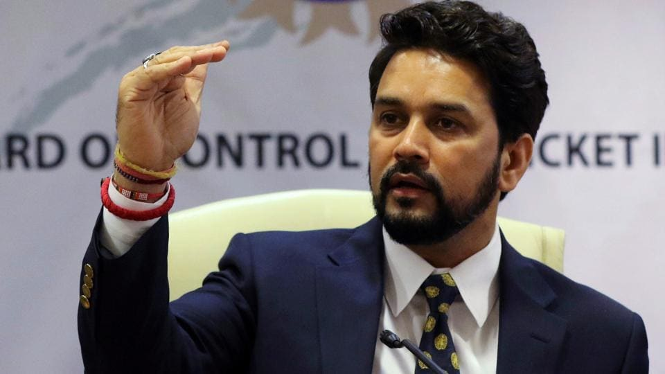 Anurag Thakur,BCCI president,Board of Control for Cricket in India
