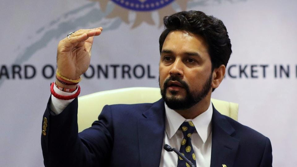 A file photo of Anurag Thakur, former president of Board of Control for Cricket in India (BCCI).