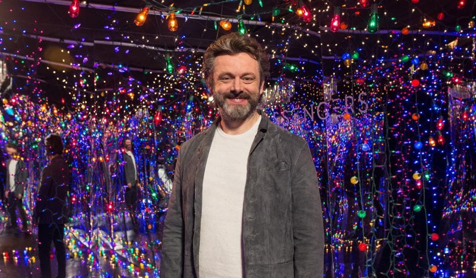 British actor Michael Sheen says he wants to be challenged by a movie role.