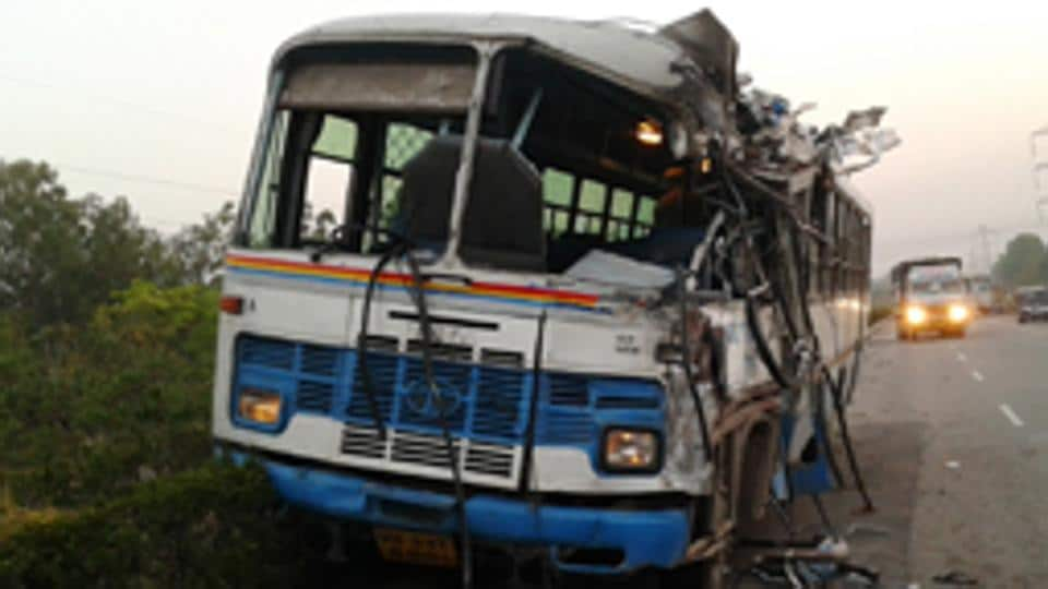 The accident took place on Sunday night on Gariyaband-Raipur road when around 40 people were returning to Mana Basti village after attending a family function at Tarra Village.