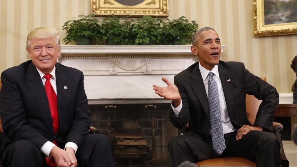 Barack Obama,Donald Trump,US president