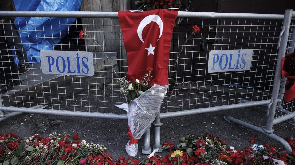 Two Indians were among the 39 people killed in an attack on a nightclub in Turkey during New Year's celebrations.