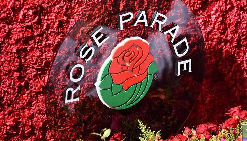 The Rose Parade, also known as the Tournament of Roses Parade, is part of 'America's New Year Celebration' held in Pasadena, California each year on New Year's Day. (AFP Photo)
