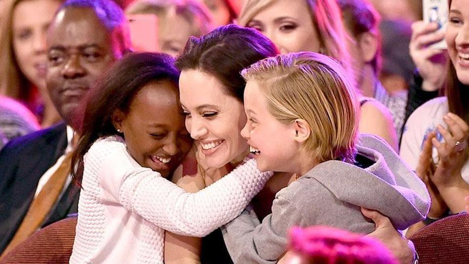 Angelina Jolie,Kids,Brad Pitt