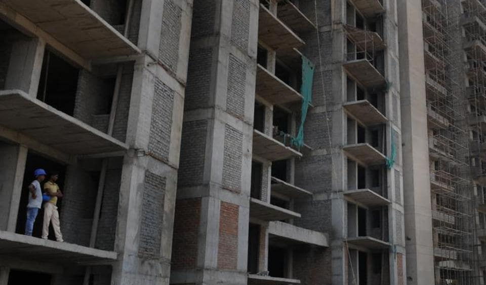 Due to a slowdown in the realty sector, builders were unable to complete their projects, affecting lakhs of homebuyers.