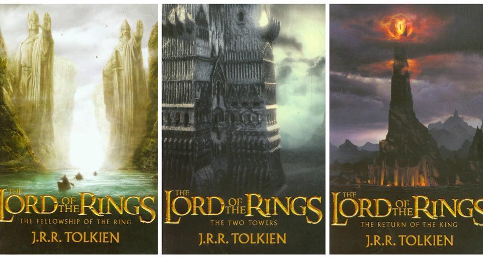 JRR Tolkien,JK Rowling,Harry Potter